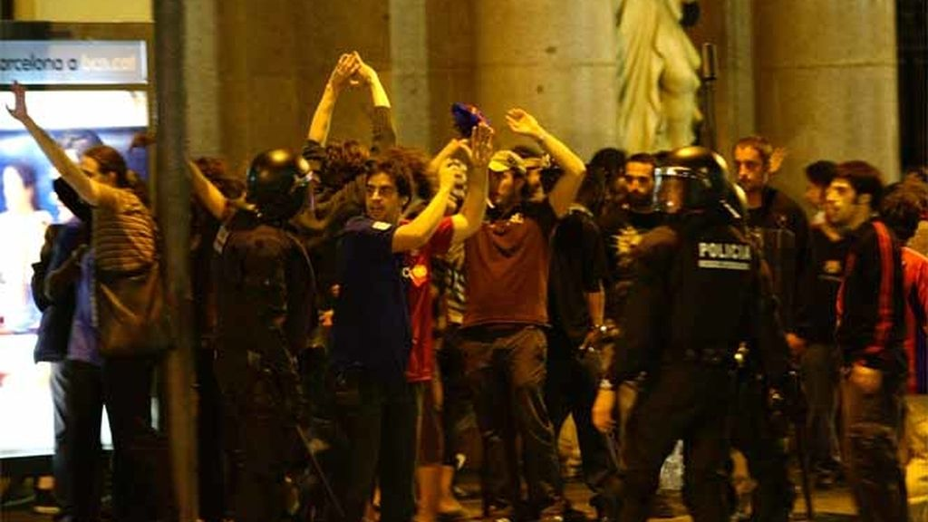 Incidentes en Canaletas