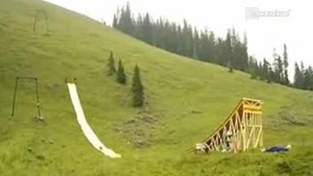El tobogán más largo del mundo