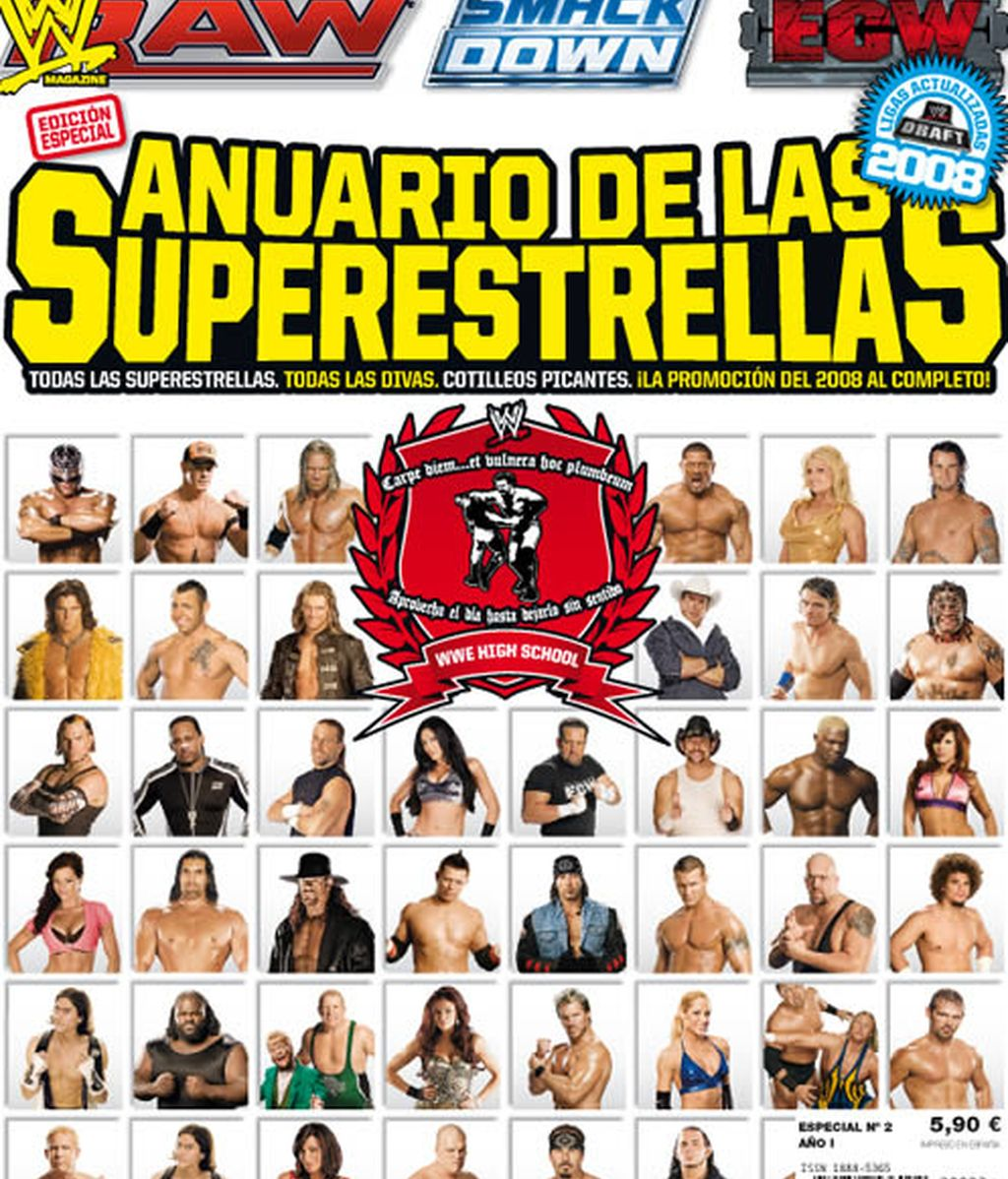 WWE Magazine Especial: Anuario de las Superestrellas