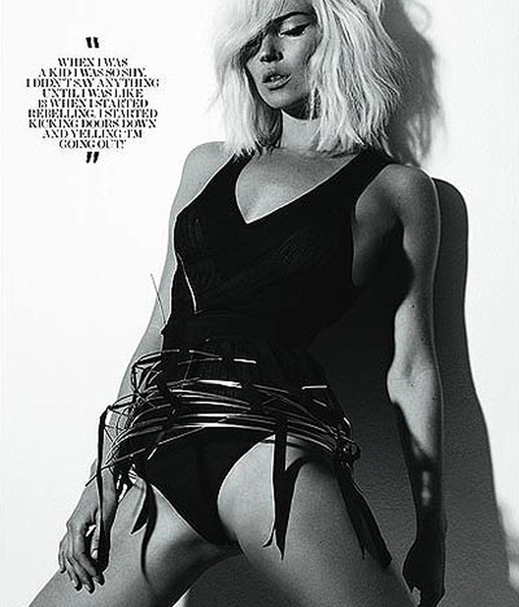 Kate Moss, más rubia que nunca