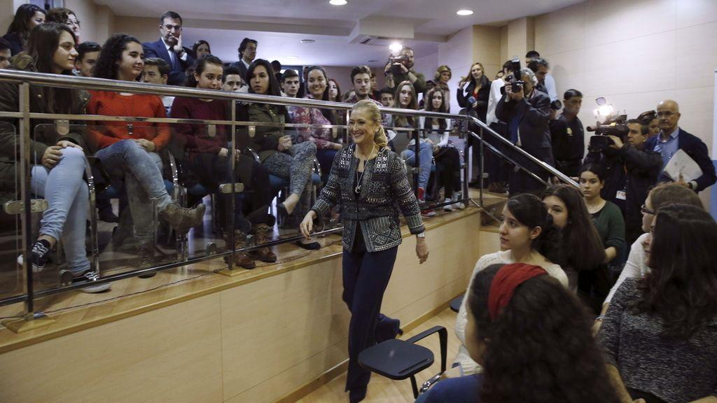 La delgada del Gobierno en Madrid, Cristina Cifuentes