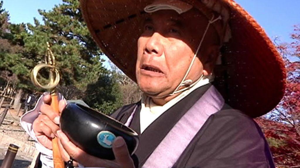 Un monje japonés