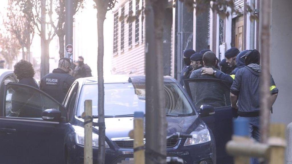 Nueve detenidos en una operación de Mossos contra grupos anarquistas