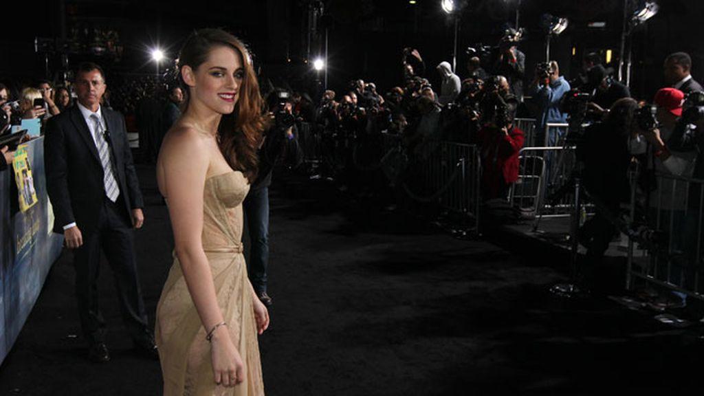 Kristen ha posado feliz y relajada