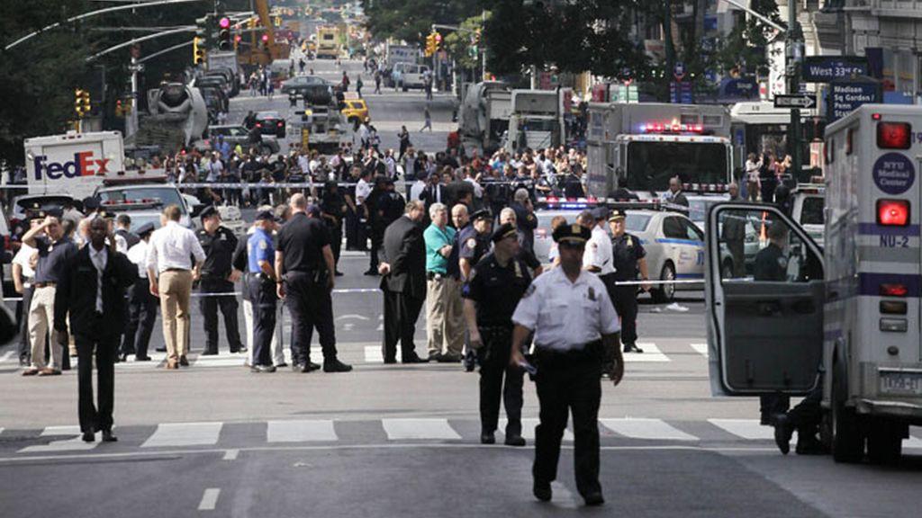 Imágenes del tiroteo junto al Empire State Building