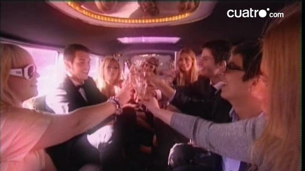 Champán y limousina para llevar al huerto a los Hijos de papá
