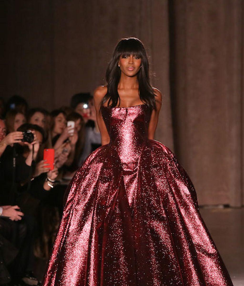 Naomi Campbell vuelve a las pasarelas