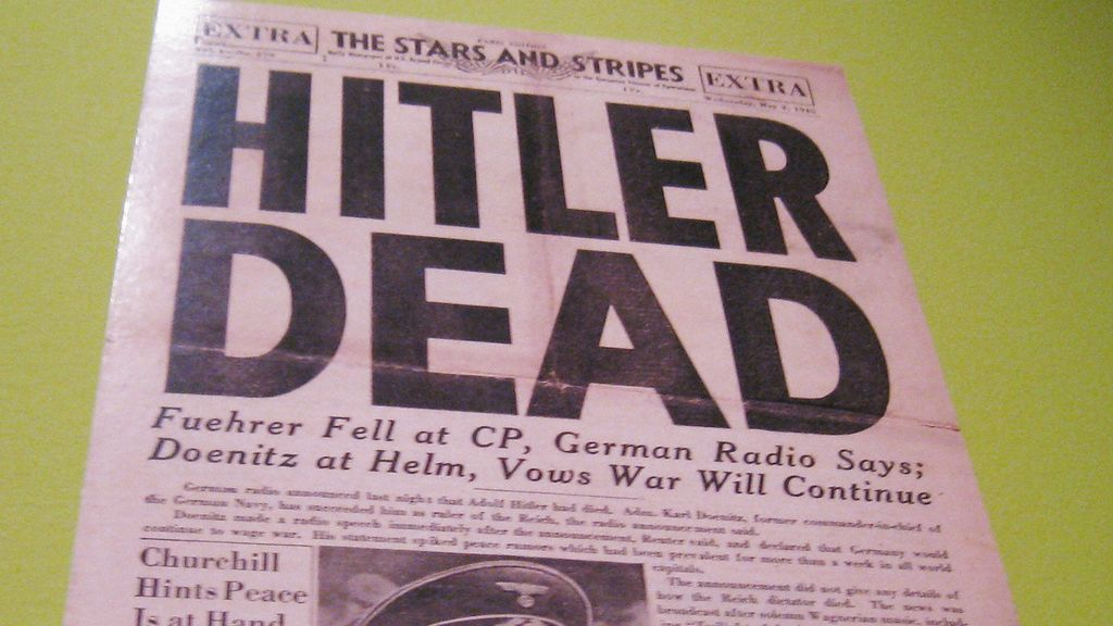 70 años de la muerte de Hitler
