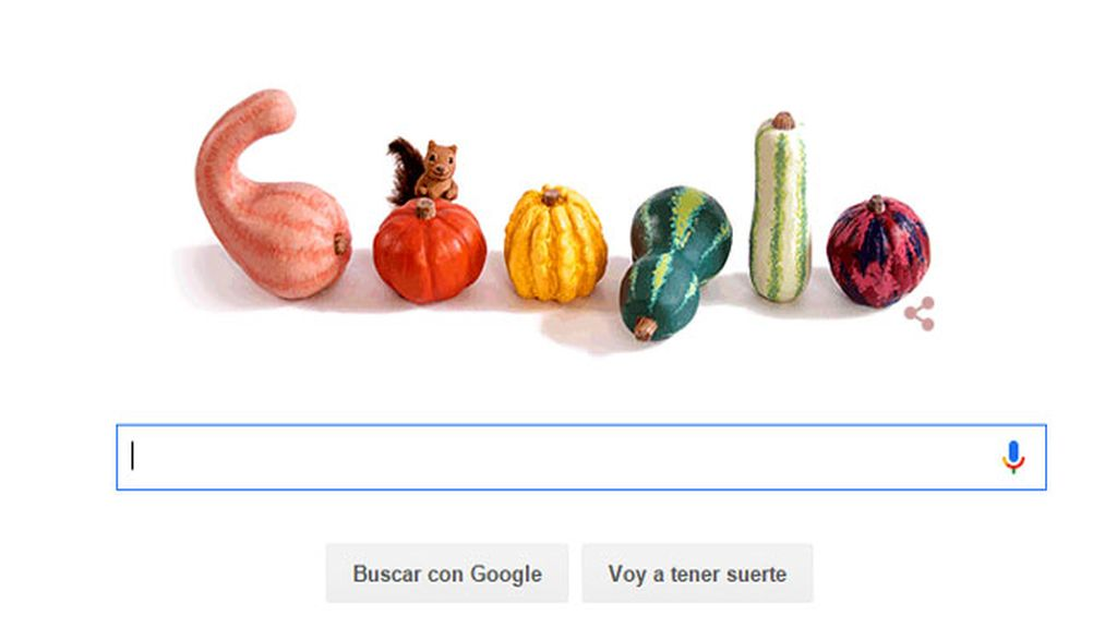 Google celebra la llegada del Otoño