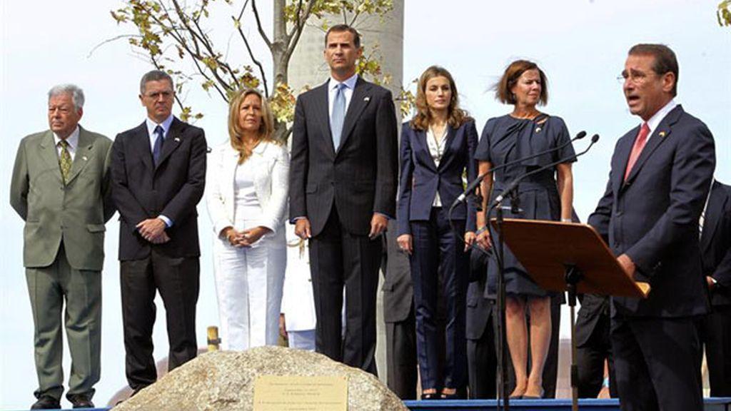Homenaje en Madrid al 11S