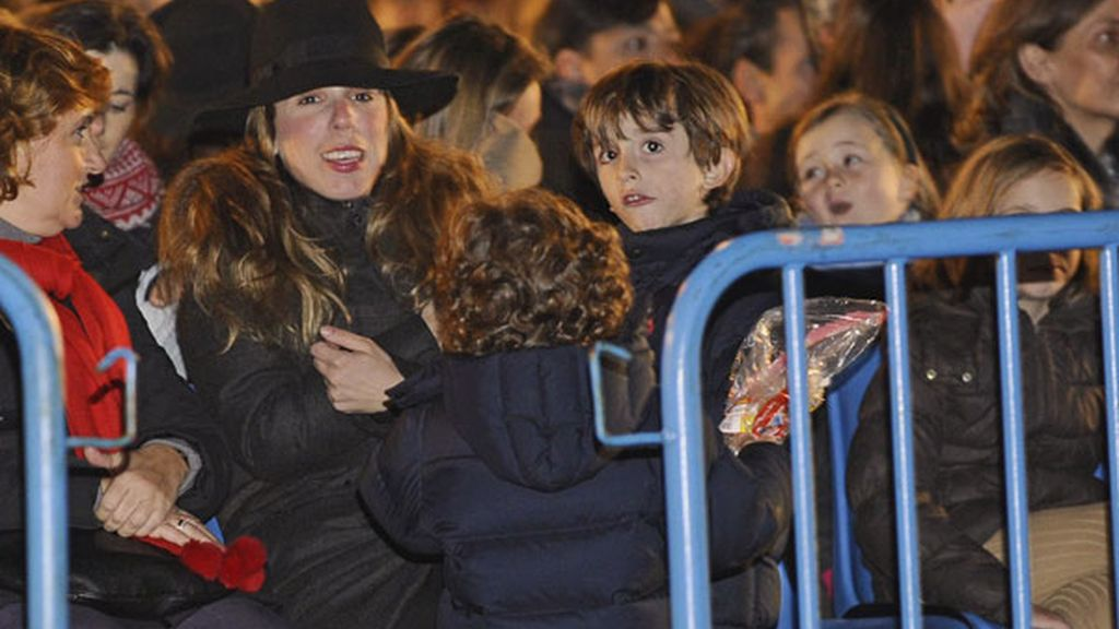 Los famosos disfrutan de la cabalgata de Reyes