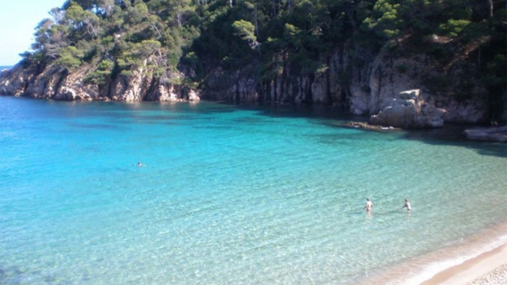 Playa de Aiguablava, Girona