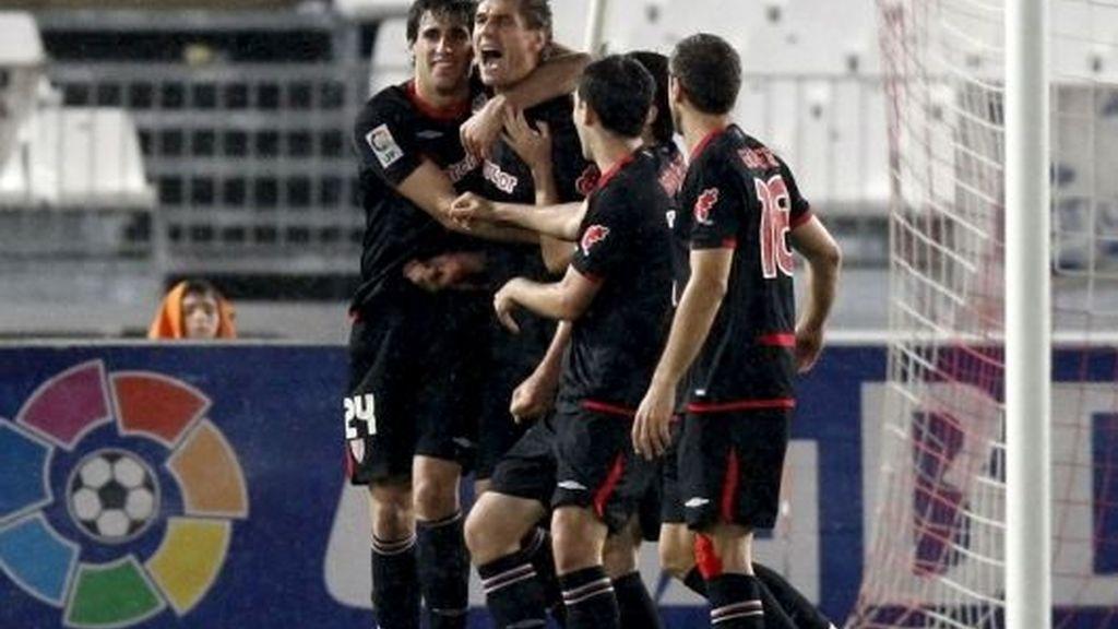 El Athletic tiene la clasificación en la mano. FOTO: EFE.