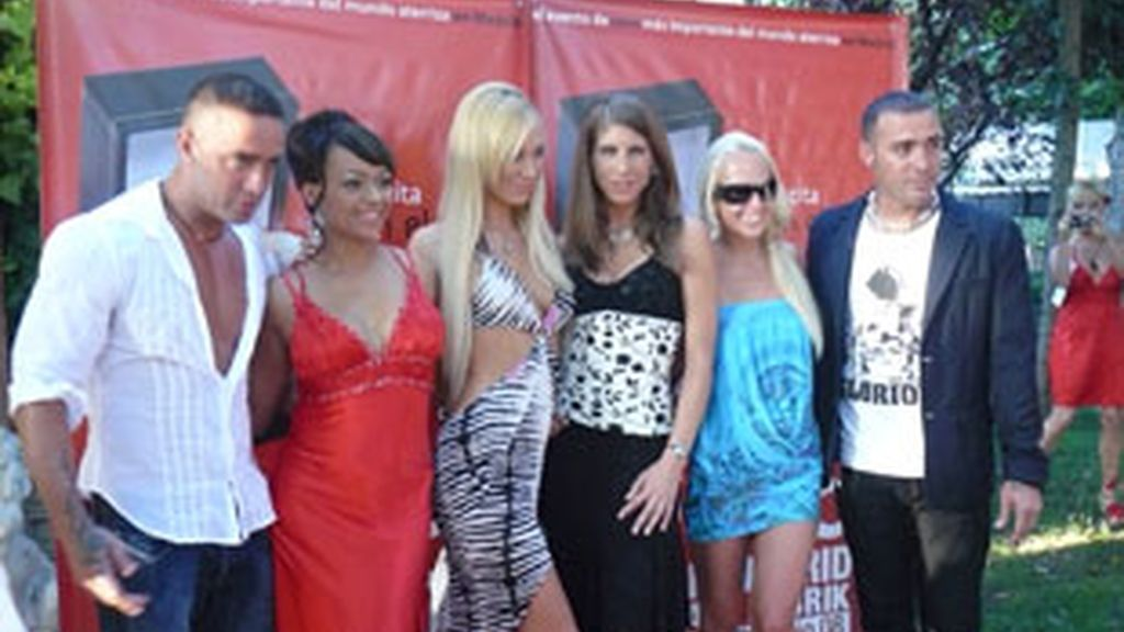 Rocco Siffredi, Nacho Vidal, Silvia Saint, Sonia Baby y Anastasia Mayo acudieron, entre otros, al evento.