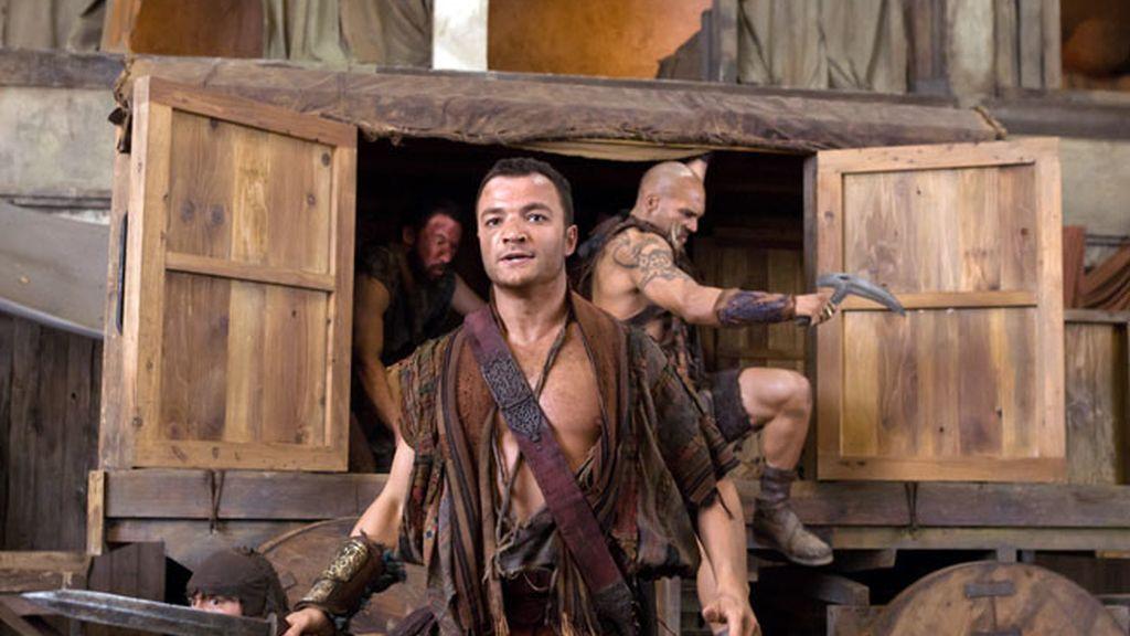 Las fotos de los capítulos 8, 9 y 10 de 'Spartacus: Venganza'