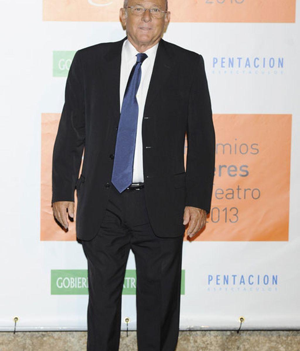 El actor Emilio Gutiérrez, muy elegante