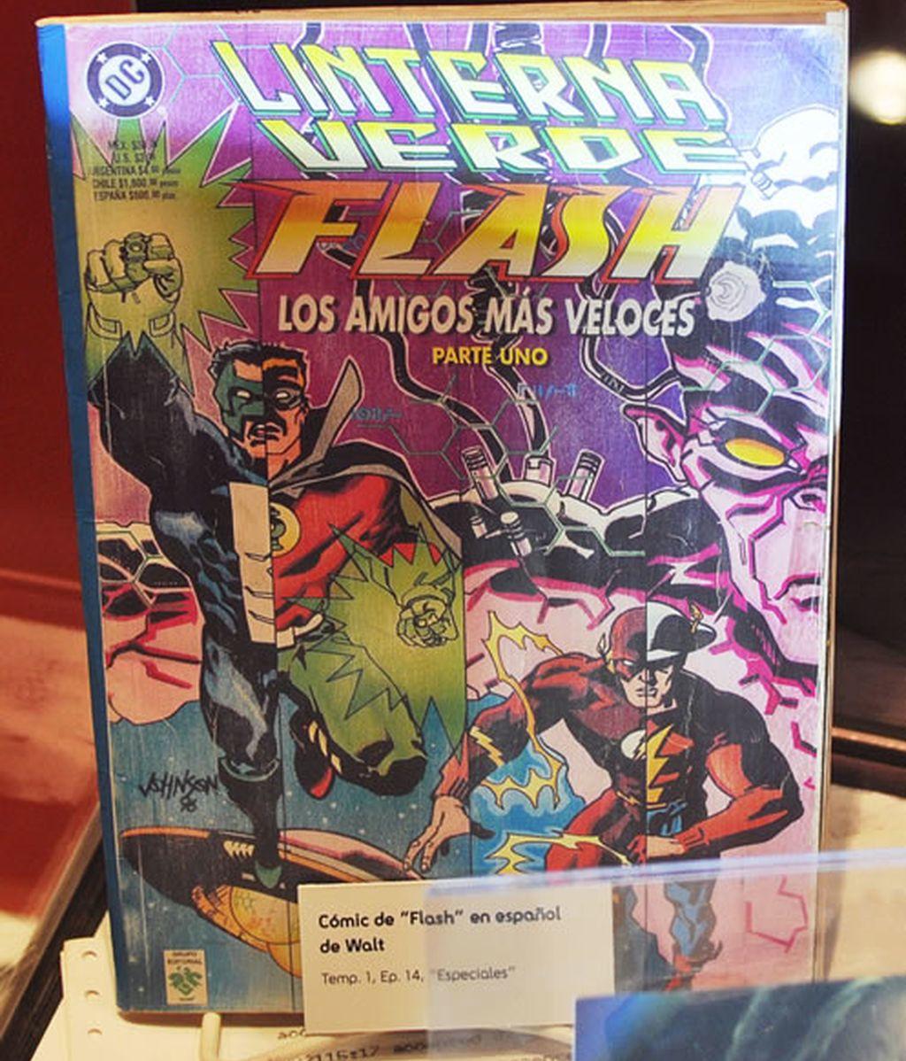 """Cómic de """"Flash"""" en español de Walt"""