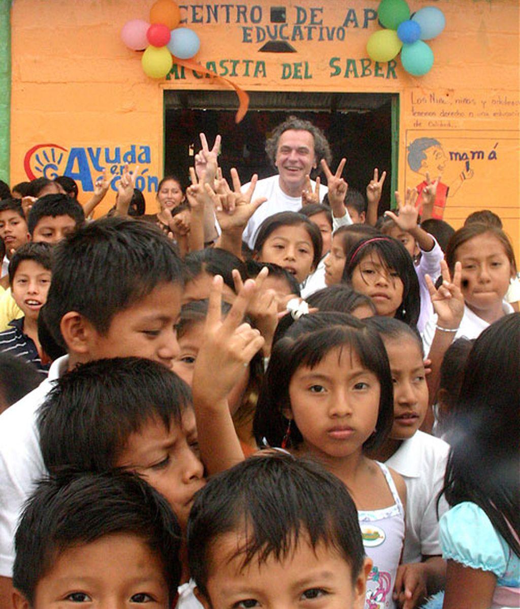 El viaje de Jose Coronado a Ecuador a través de los ojos de su hijo