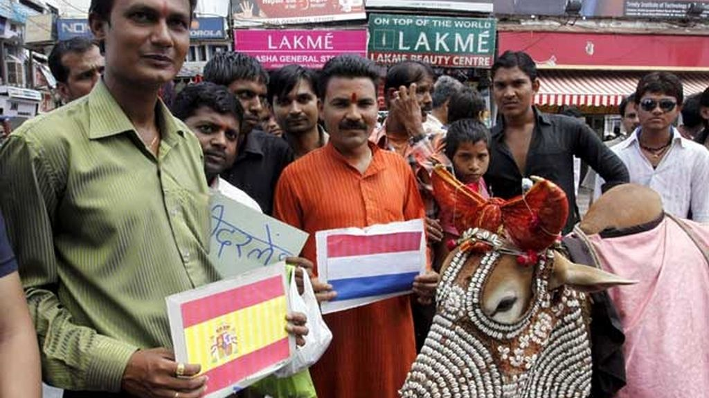 Nandi Baba, también con 'La Roja'