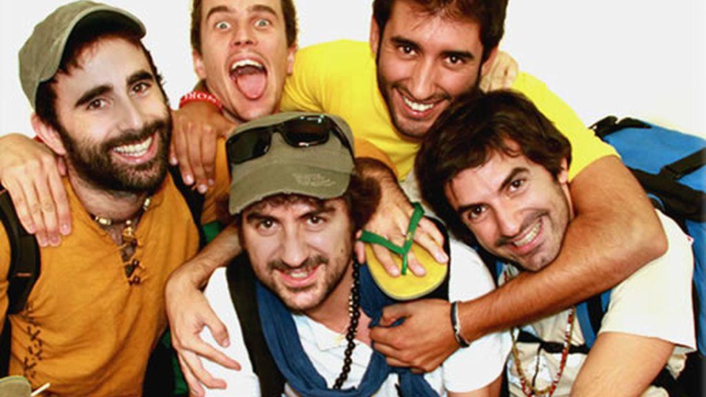 Antonio, Kike, Sama, Miki y Xavi