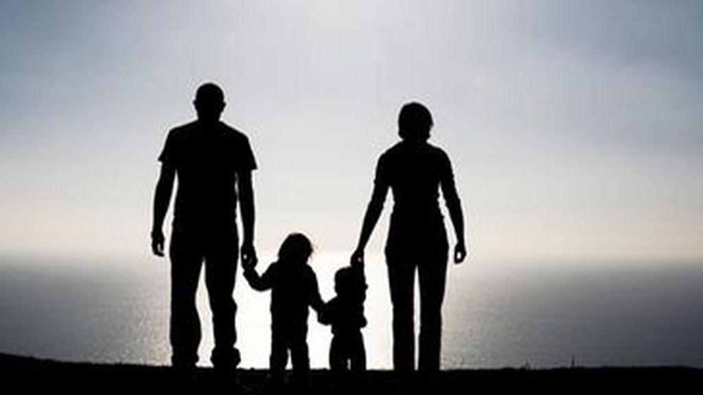 Foto de una familia