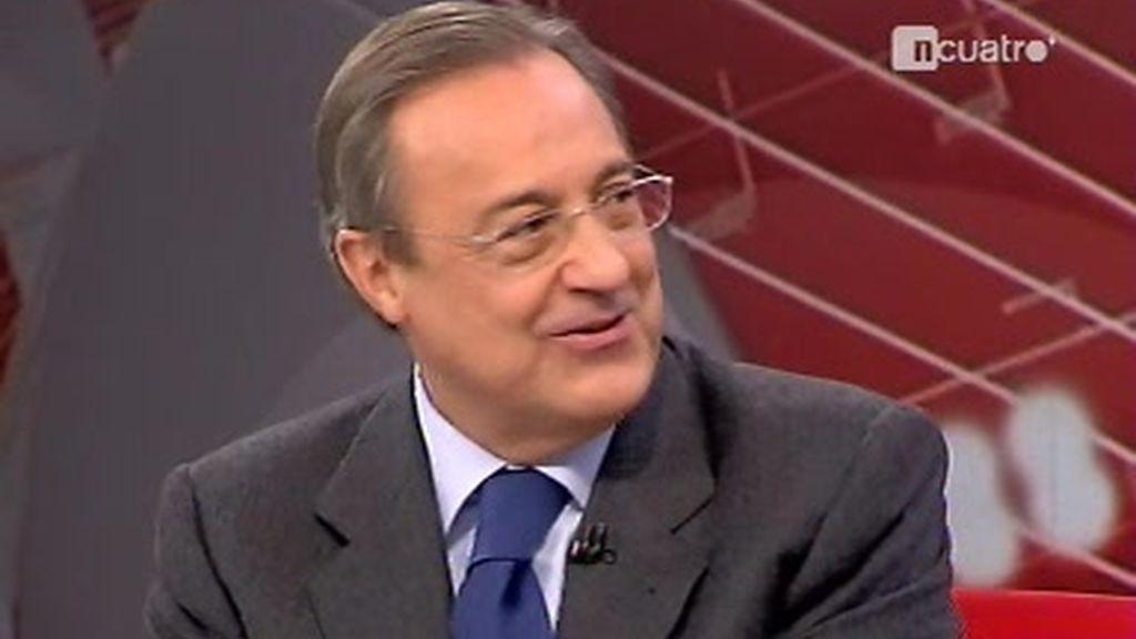 Entrevista a Florentino Pérez: La llegada al Real Madrid
