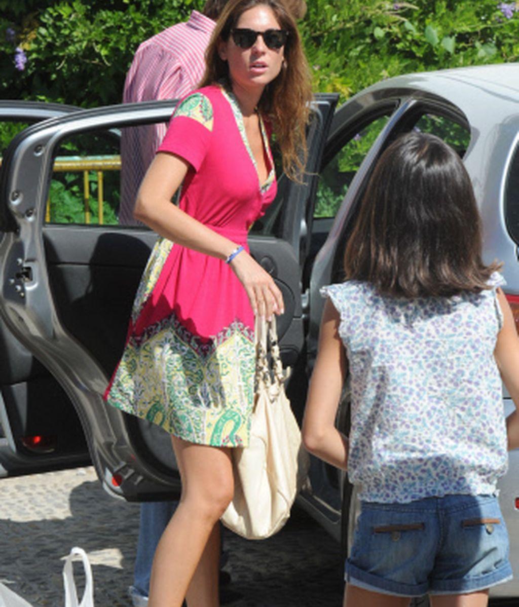 Lourdes Montes a su llegada a la plaza