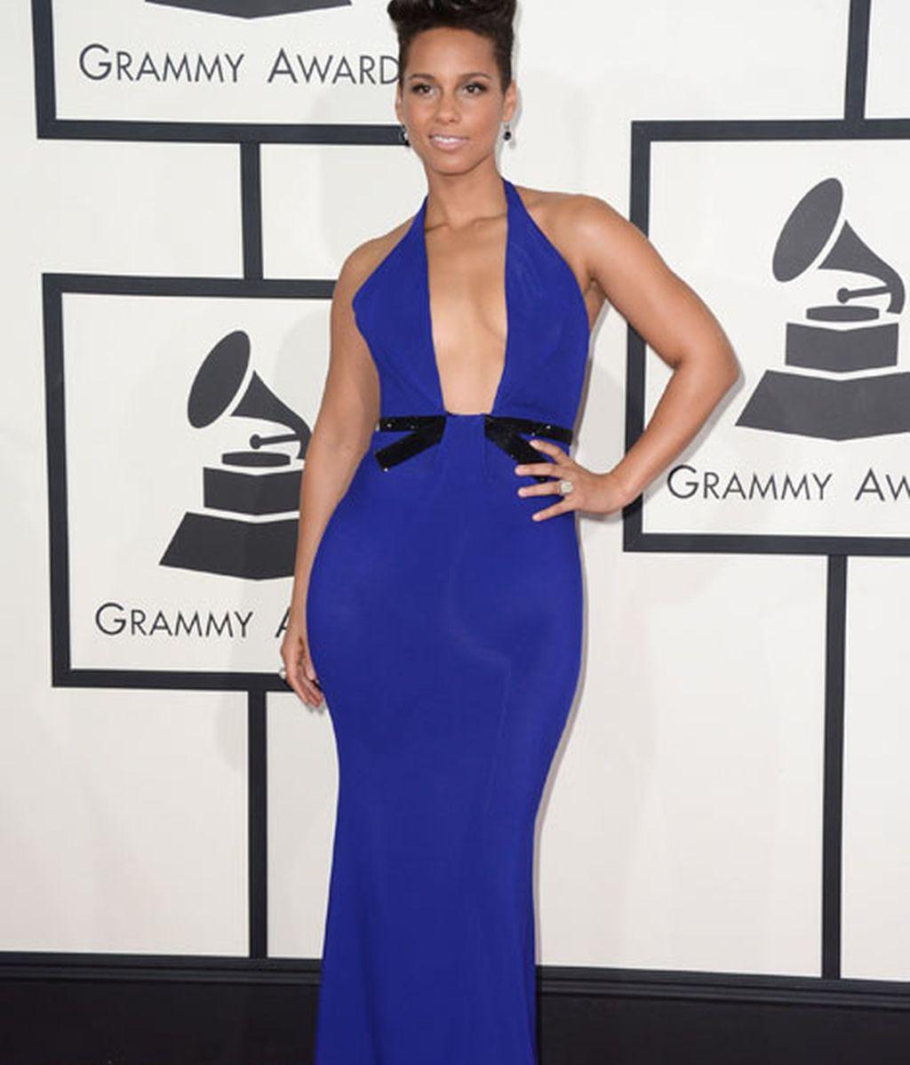 Alicia Keys de Armani Privé