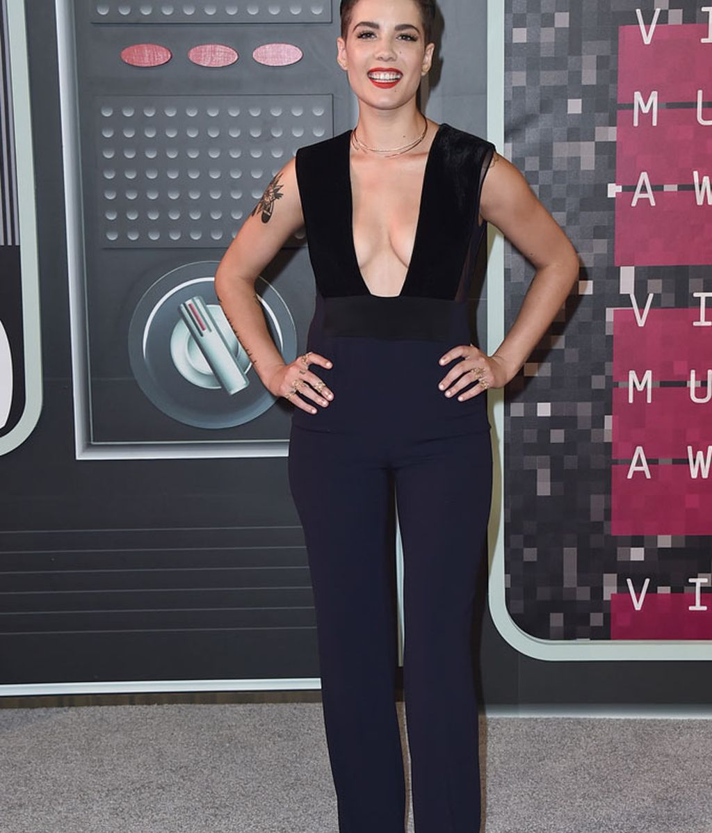 Halsey en los premios MTV