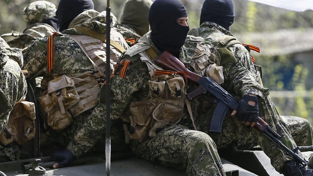 Los milicianos prorrusos de Donetsk se niegan a entregar las armas