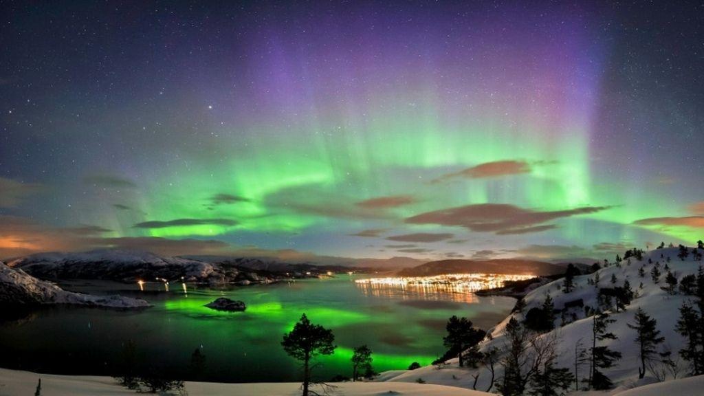 4. Auroras boreales, Noruega