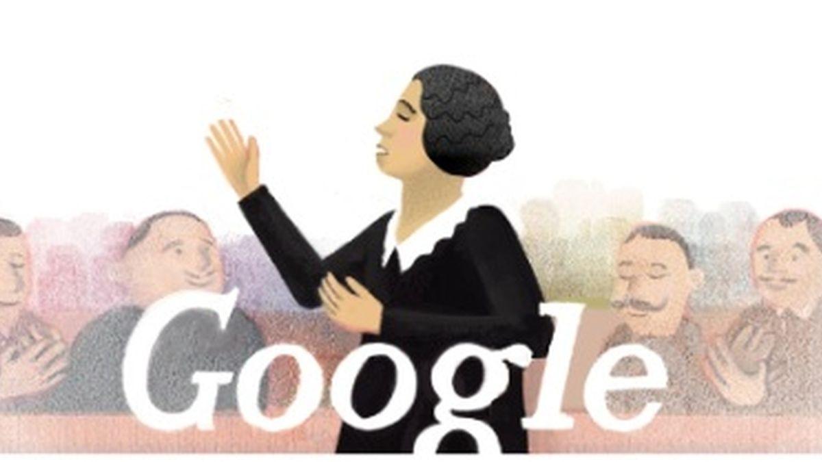 Doodle de Clara Campoamor