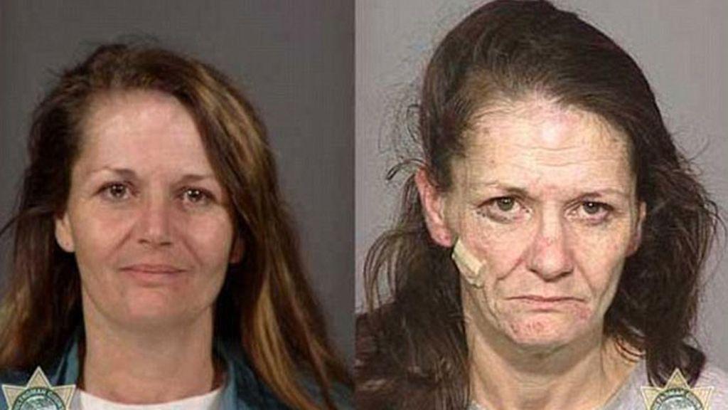 Antes y después de tomar drogas