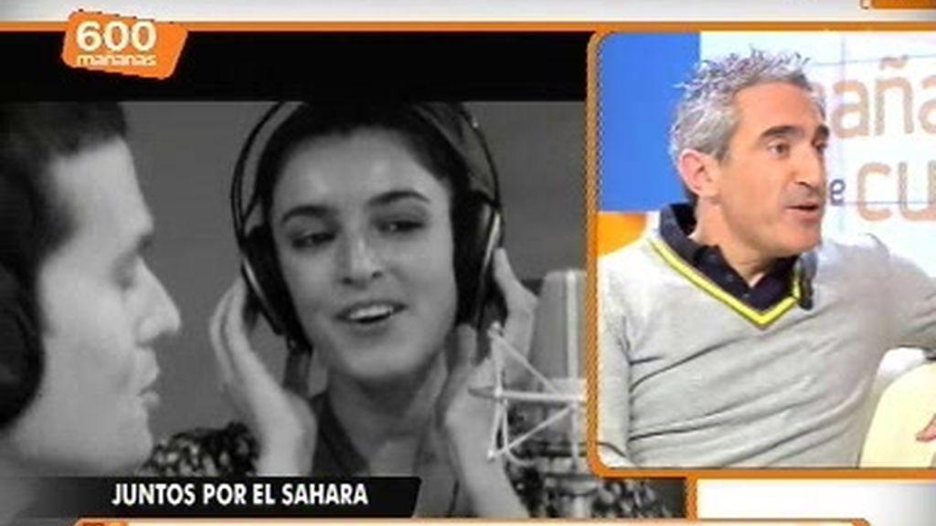 Actores y cantantes unidos por el Sahara