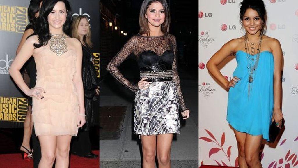 Comparten pose y vestidos cortos
