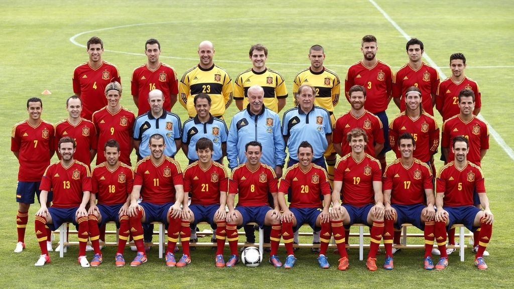 Foto de familia de España