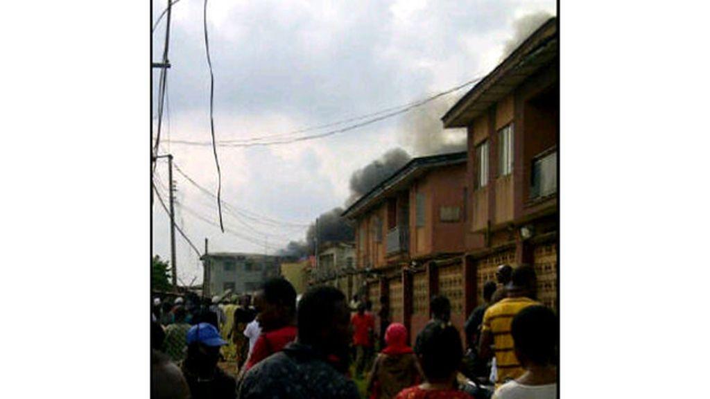 Accidente de avión mortal en Nigeria