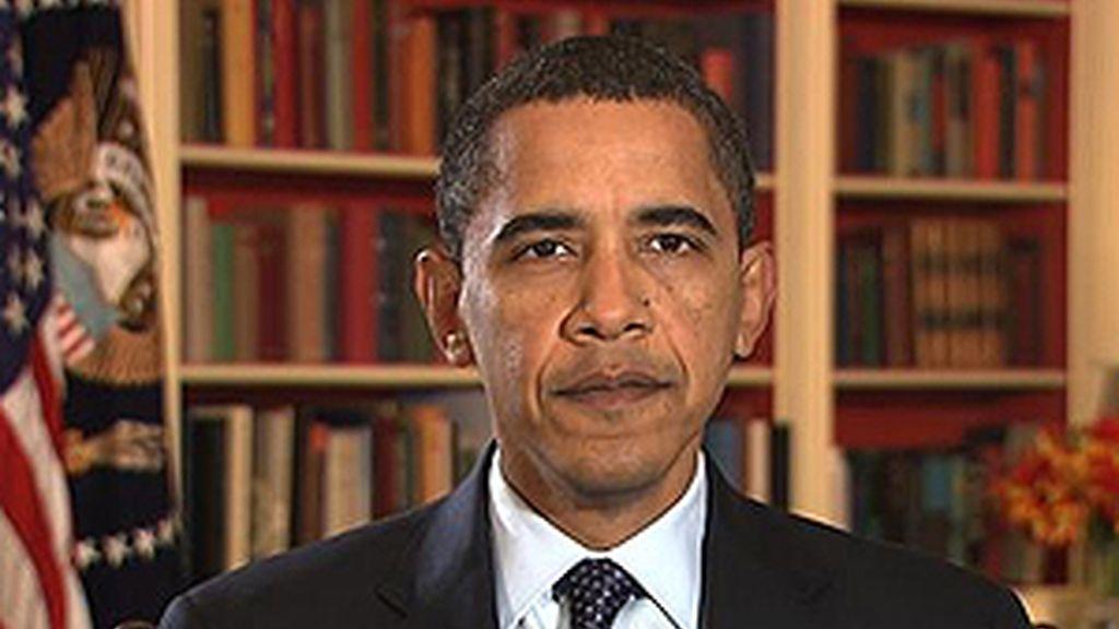 El primer ciberdiscurso de Barack Obama como presidente ya se puede ver en la Red. Foto: La Casa Blanca.