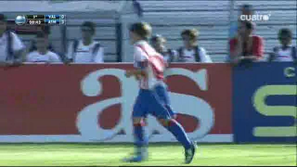Golazo de Luis Hernáiz para el Atleti