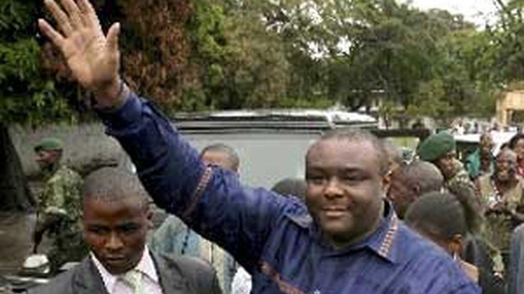 Jéan-Pierre Bemba tras las elecciones de 2006. Foto: EFE.