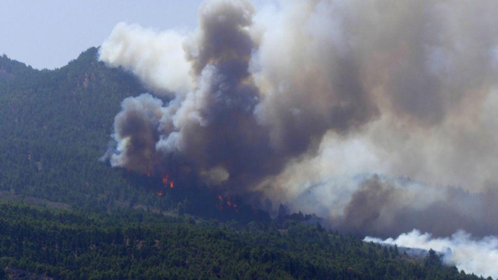 """El detenido por el incendio en La Palma declara que lo provocó """"de forma accidental"""""""