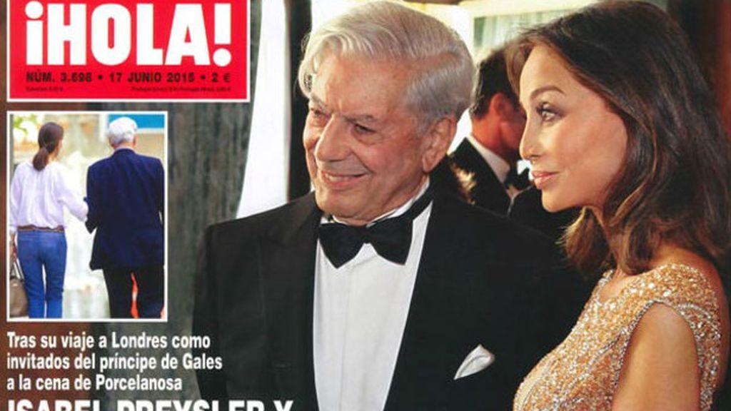 Vargas Llosa y Preysler