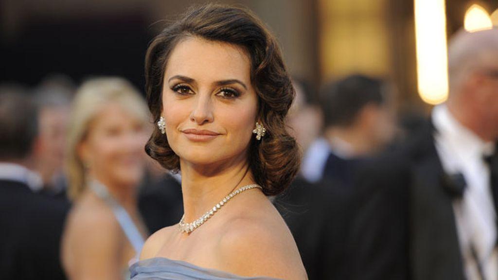 Penélope Cruz eligió este look para la gala de los Óscar de 2012