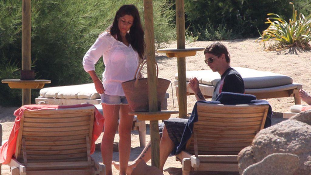 Fernando Torres, vacaciones familiares en Sardeña