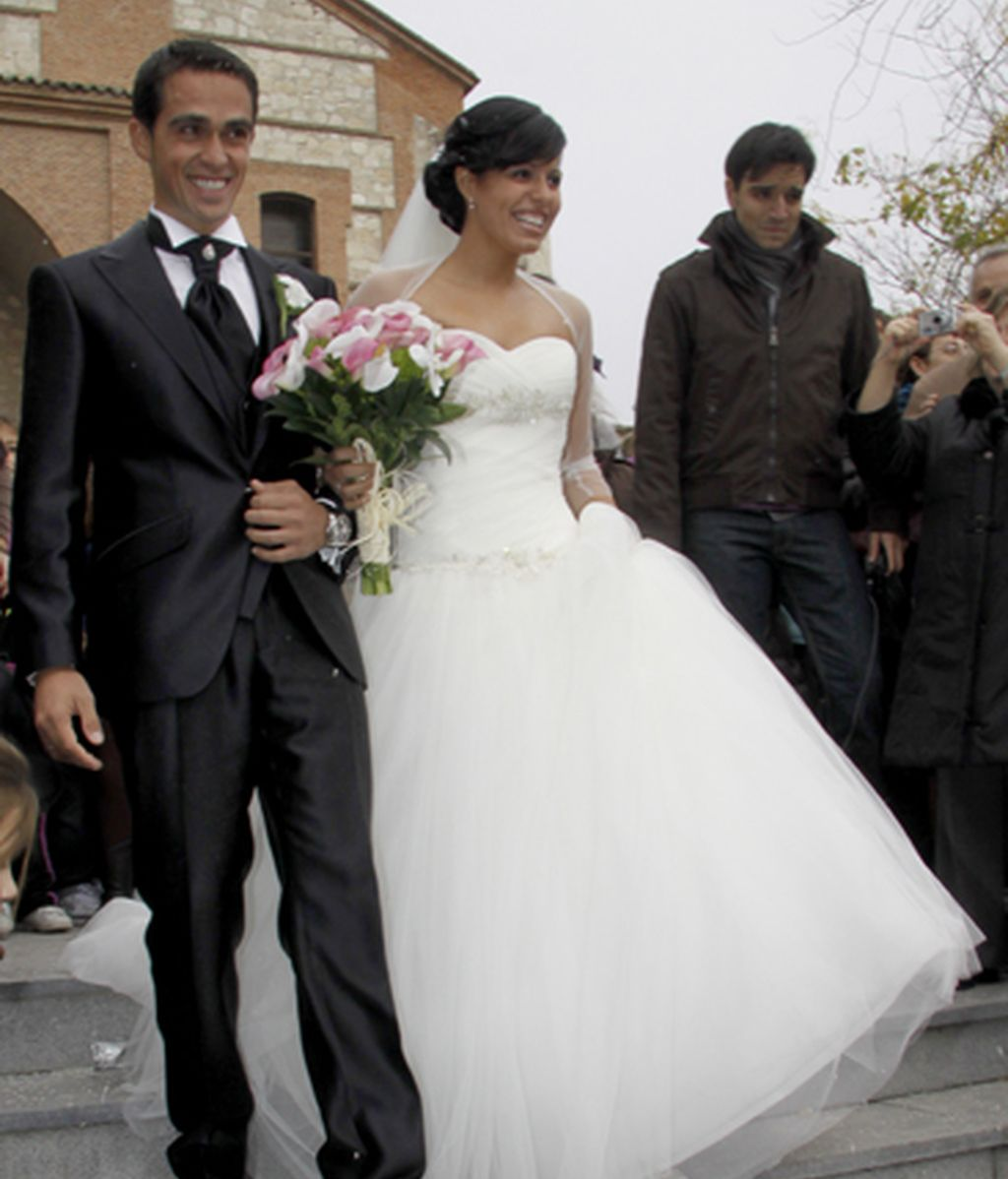 Contador da el 'sí quiero' en Pinto