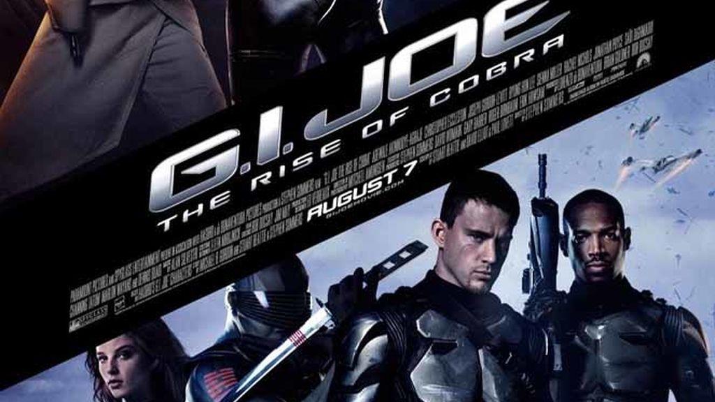 """Cartel de """"G.I. Joes: The rise of Cobra"""""""