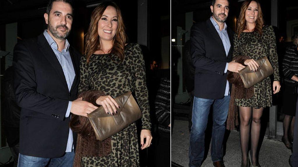 Chayo Mohedano, embarazada de nuevo, junto a su marido Andrés Fernández