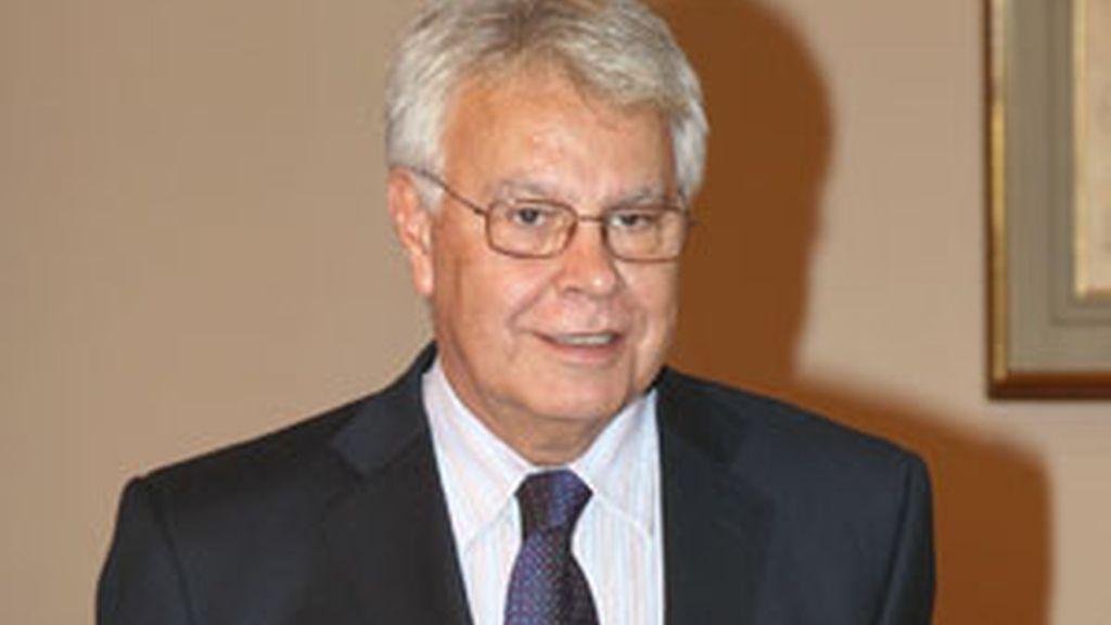 Felipe González ha pedido que se mantenga la sanidad aunque haya que subir los impuestos