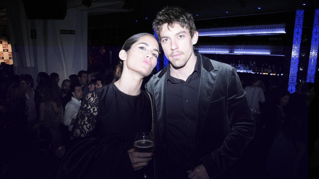 Natalia Belda y Adrián Lastra