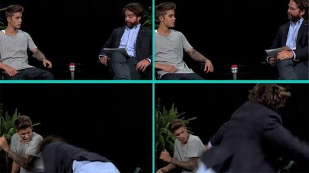 """Justin Bieber """"azotado"""" en su entrevista más gamberra y bizarra"""